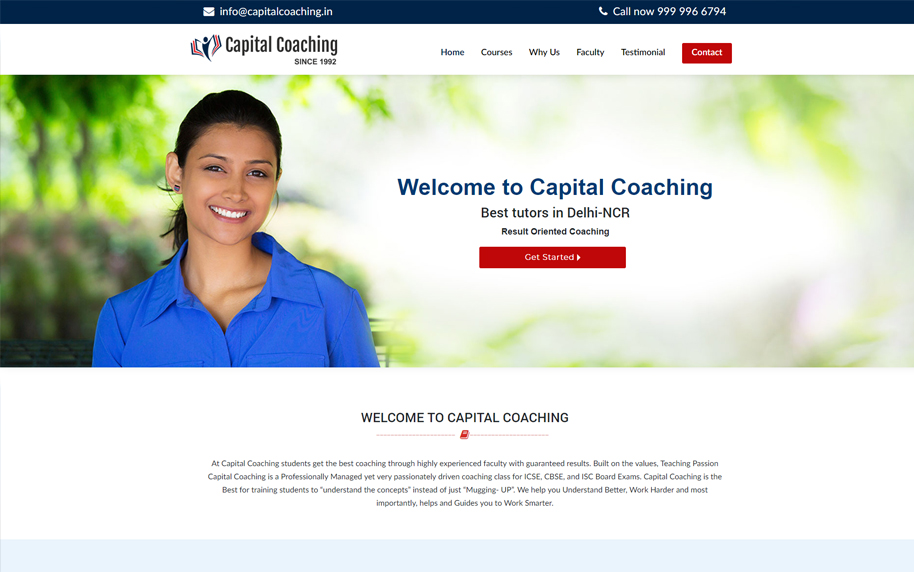 CAPITAL COACHING